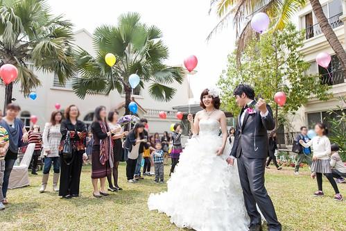 台南商務會館-一般戶外證婚儀式 (13)