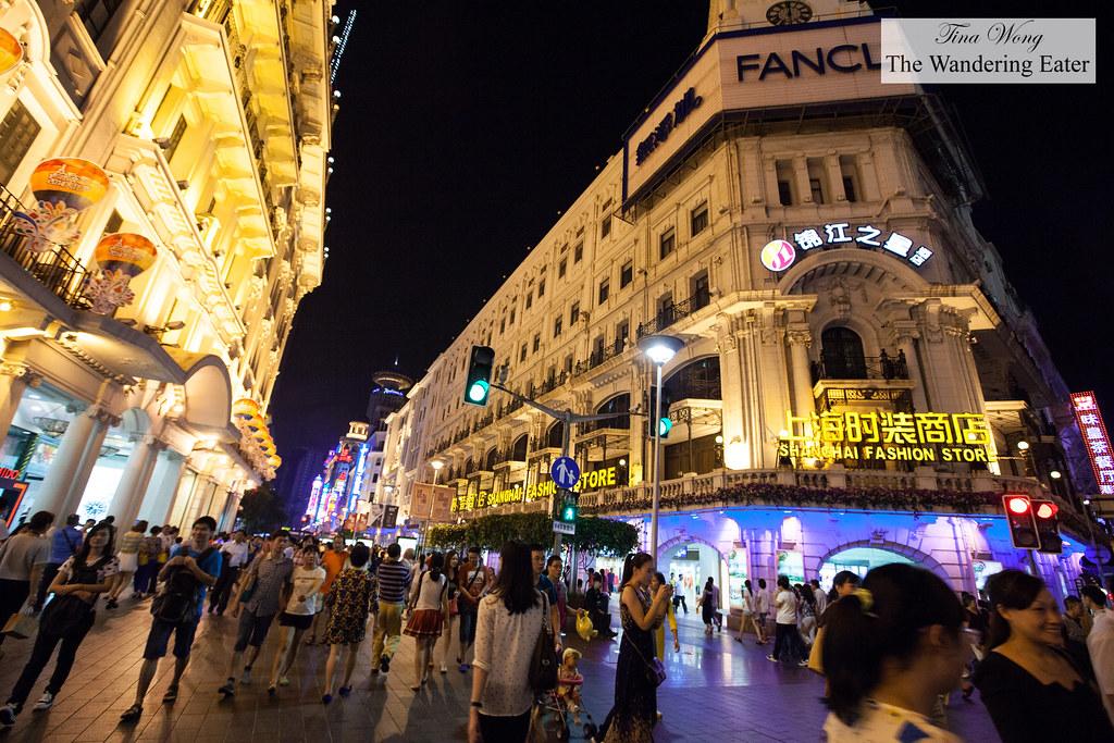 nanjing road at night [flickr]