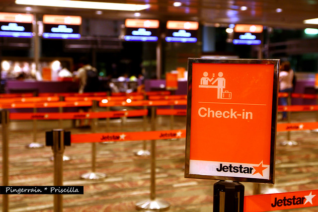 Checking in to Jetstar
