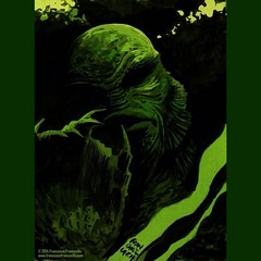 The Creature, by Francesco Francavilla. #Comics #horror