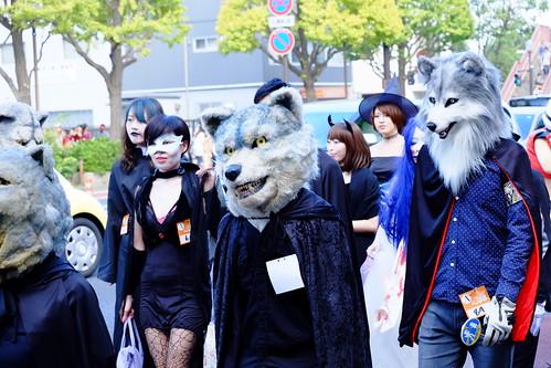 Kawasaki Halloween parade 2014 36