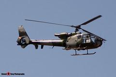 ZB673 2 - WA1966 - Army Air Corps - Aerospatiale Westland SA-341B Gazelle AH1 - Fairford RIAT 2006 - Steven Gray - CRW_0837