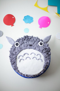 totoro cake tutorial by coco cake land