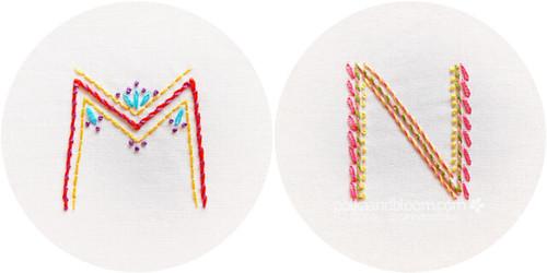 M+N - Alphabet Motif Club