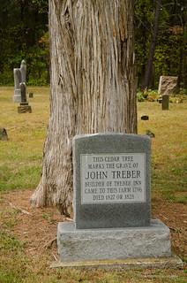 John Treber grave marker