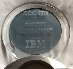 Website award from Socitm