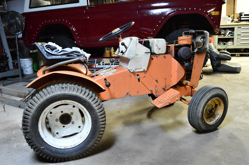 1971 Mtd Tractors : Just saying hello custom xl mytractorforum