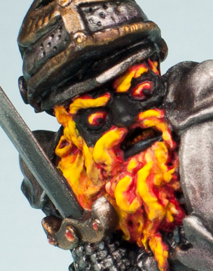 Dungeon Dwellers Fire Giant (detail)