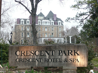 Crescent Hotel & Home Spa.