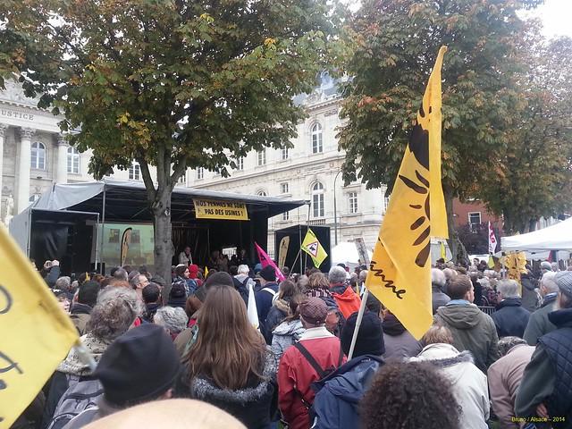 Amiens, le 28 octobre : procès des 1000 vaches