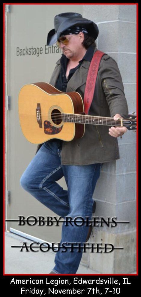 Bobby Rolens Acoustified 11-7-14