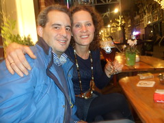 Ruth en Michiel in Schuim, Amsterdam