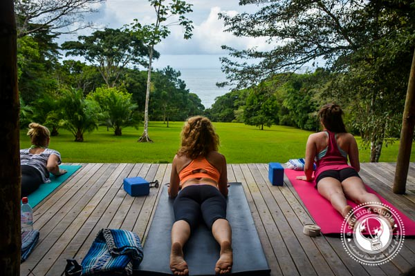 Open Air Yoga Studio in Costa Rica