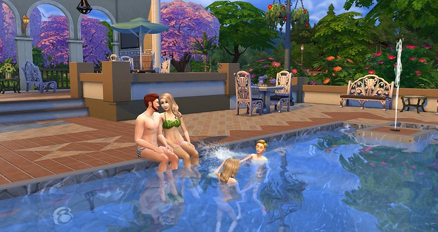 The sims 4 pool guide simsvip for Pool design sims 4