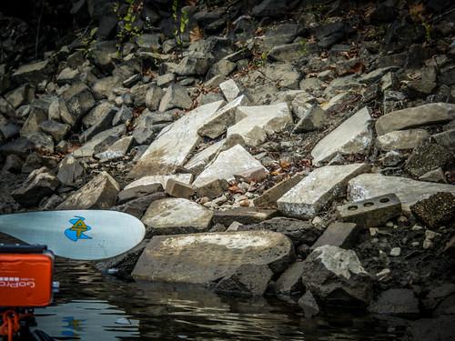 Savannah River from Stokes Bluff with LCU Nov 7, 2014, 4-18 PM Nov 8, 2014, 9-034