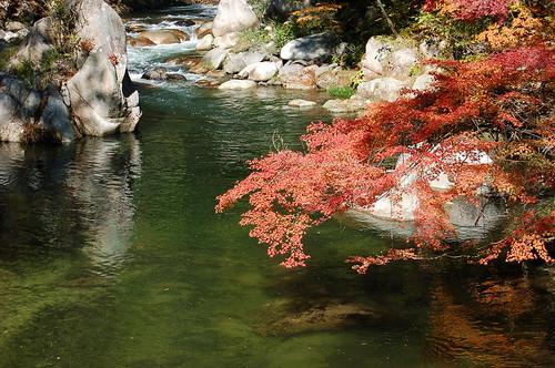 ★昇仙峡の秋★山梨県甲府盆地から・・・
