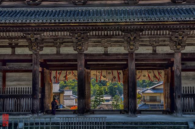 「風」 仁和寺 - 京都