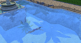 The Sims 4 pool swim death 2