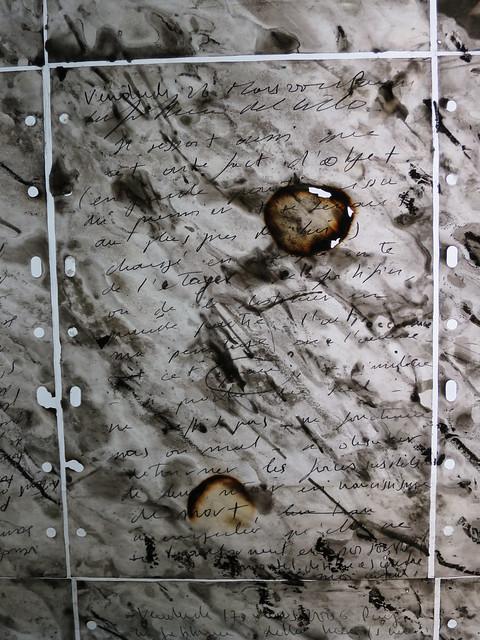 Composition, détail (2007) de Jean-Paul Marcheschi pour la station Carmes du métro de Toulouse (31)