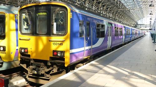 Class 150 149 'Northern Rail' Diesel Multiple Unit on 'Dennis Basford's railsroadsrunways.blogspot.co.uk'