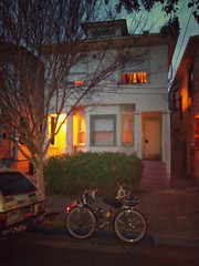 "And now, a tour of my secret Bay Area past, Part 1: 460 49th Ave, Oakland. I lived here for two months, August and September 2000. Desperate, I moved in with two unknown roommates. The leaseholder used my rent money for more ""important"" things, like tatto"