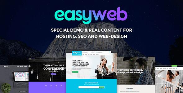 EasyWeb WordPress Theme free download