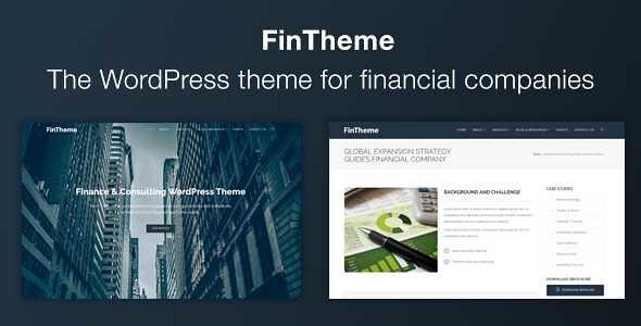FinTheme WordPress Theme free download