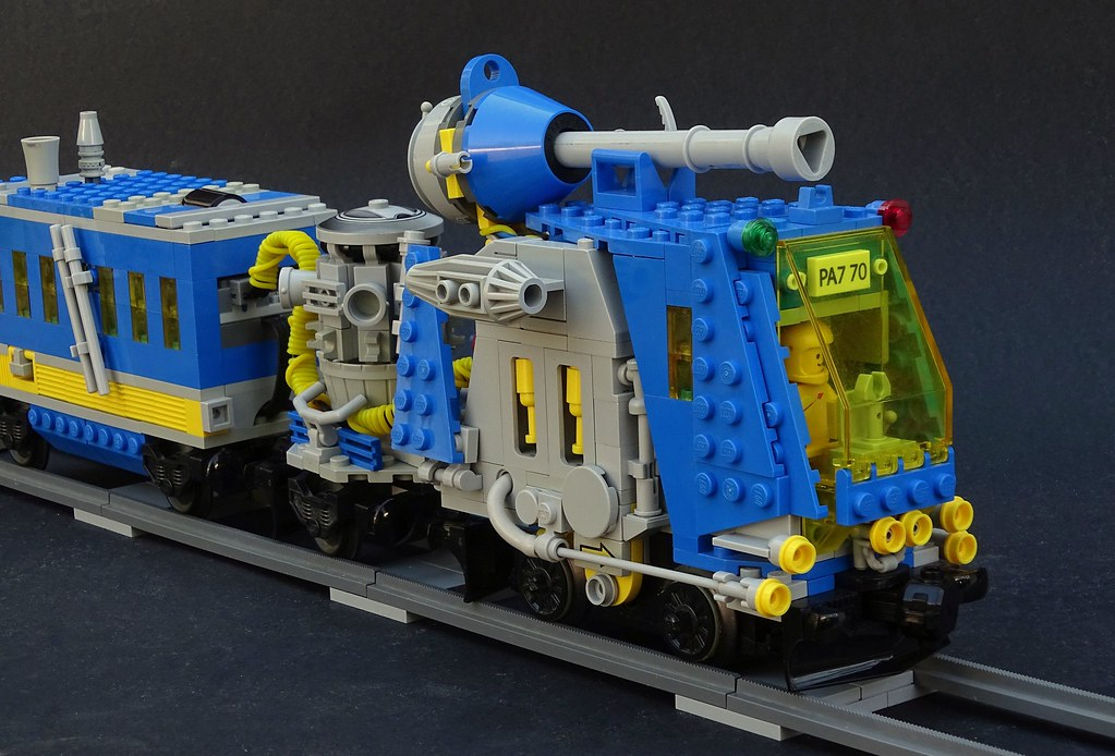 classic workhorse (custom built Lego model)