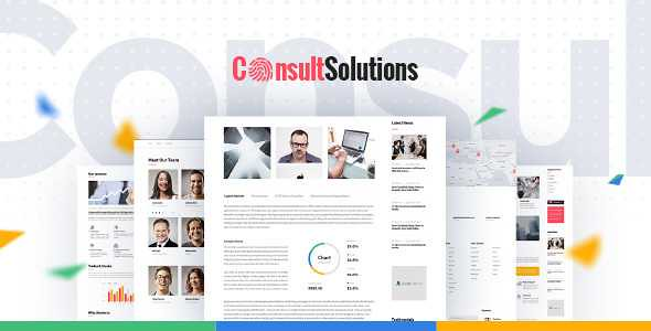 Consult Solution WordPress Theme free download