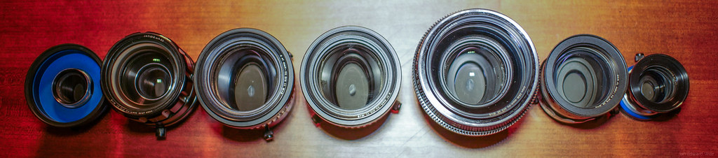 Anamorphic family - Top View
