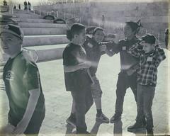 Boys at Getty