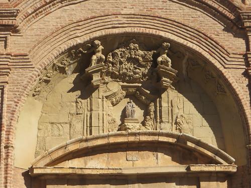 Eglise Nuestra Señora dela Asunción (XVIIIe), Munébrega, communauté de Calatayud, province de Saragosse, Aragon, Espagne.