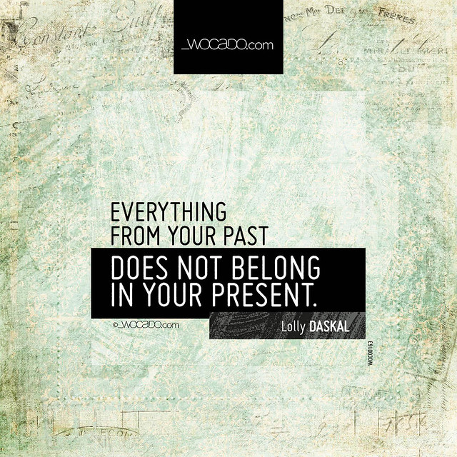 Everything from your past by WOCADO.com