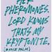 HER PHEROMONES