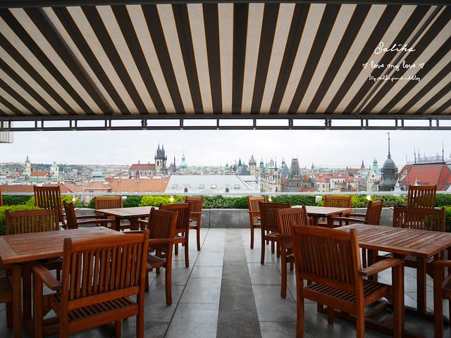 布拉格夜景景觀餐廳推薦洲際酒店晚餐 (14)