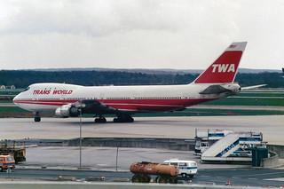Trans World Airlines - TWA Boeing 747-131 N93107