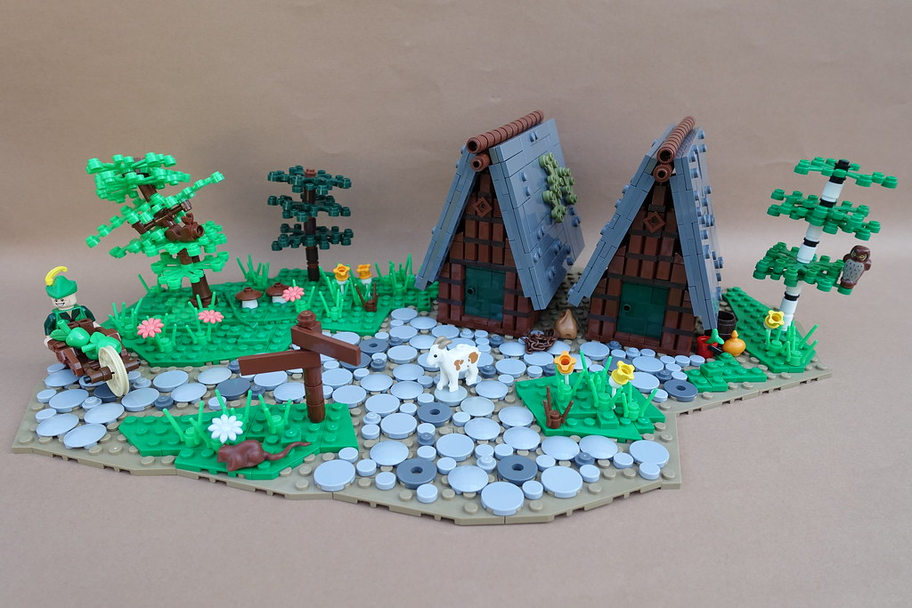 9 Kingdoms – Somewhere in the Brandküste (custom built Lego model)