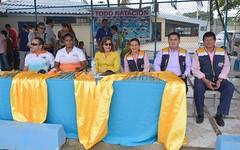 Nadadores realizaron exhibición de sus prácticas vacacionales