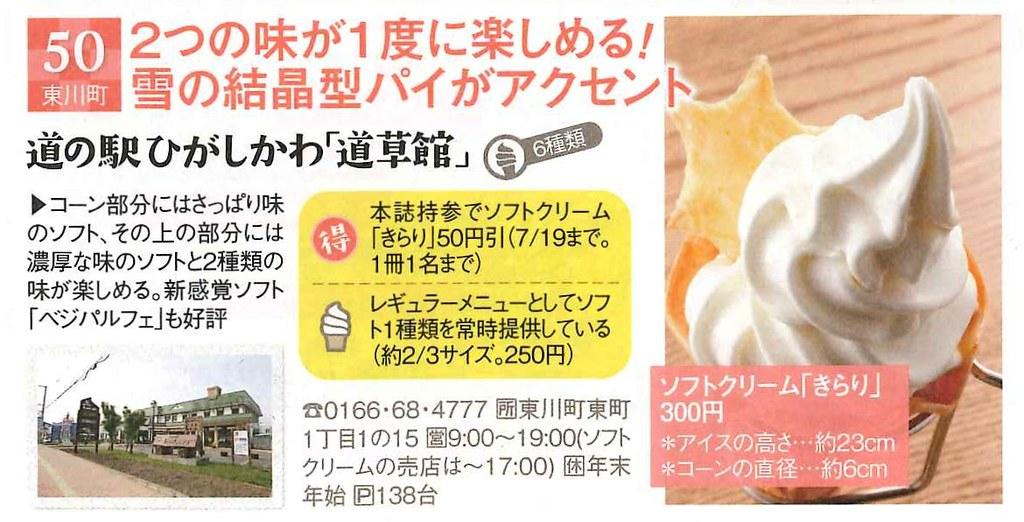 日本雜誌介紹-道草館冰淇淋