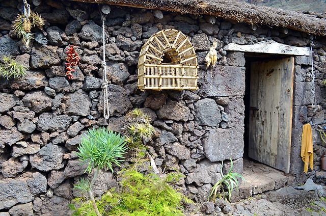 Volcanic Cottage, Guinea Eco Museum, Valle de Golfo, El Hierro, Canary Islands