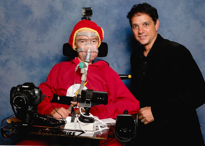 Ralph Macchio and me at LFCC Winter