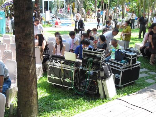 台南商務會館-基督教戶外證婚儀式 (7)