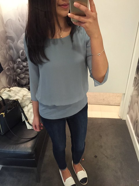 Ann Taylor top, SP
