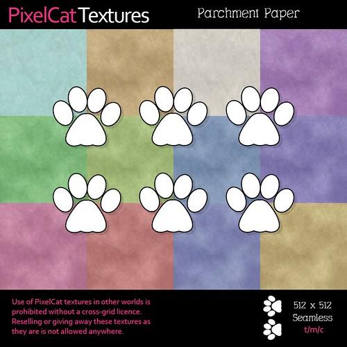 PixelCat Textures - Parchment Paper