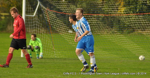 Cliffe FC 3 - 1 Pocklington Town 25Oct14