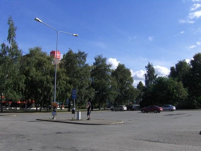 Hämeenlinnan moottoritiekate ja Goodman-kauppakeskus: Työmaan lähtötilanne 4.9.2011 - kuva 7