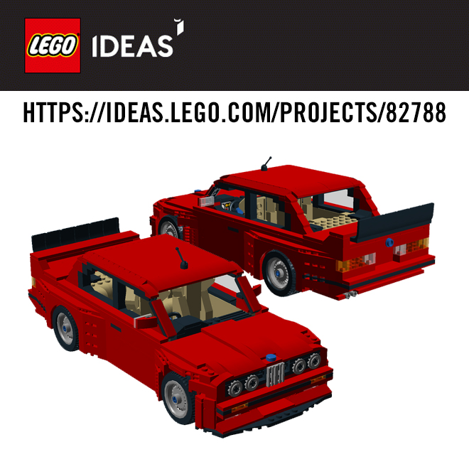 Lego E30 M3 Stage One Complete Contribution Support Needed