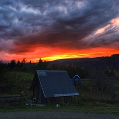 #magichour #sunset #vermont