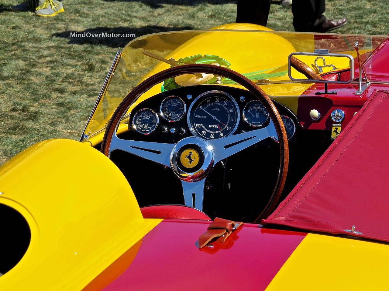 1958 Ferrari Testa Rossa Interior