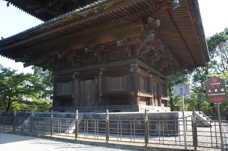 東寺 五重塔(初層)
